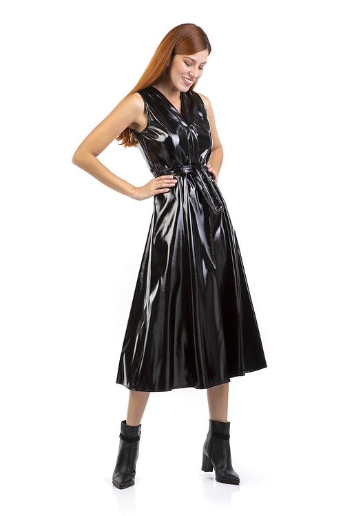 Vinyl φόρεμα
