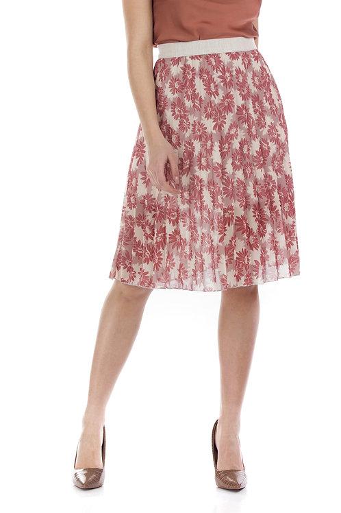 Φλοράλ φούστα με μαργαρίτες