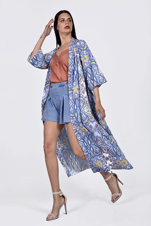 Boho ethnic kimono