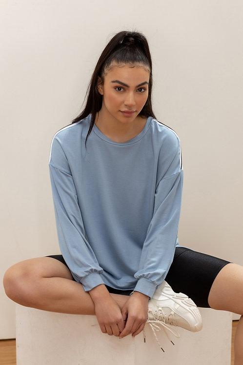 The stripe shirt