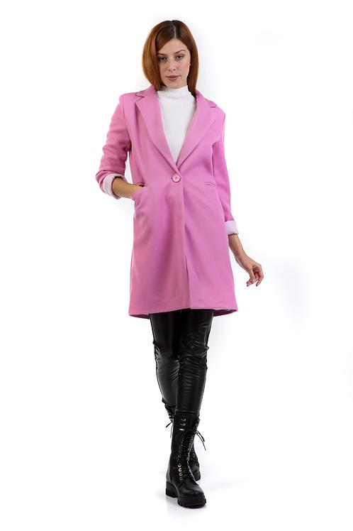 Μονόχρωμο παλτό