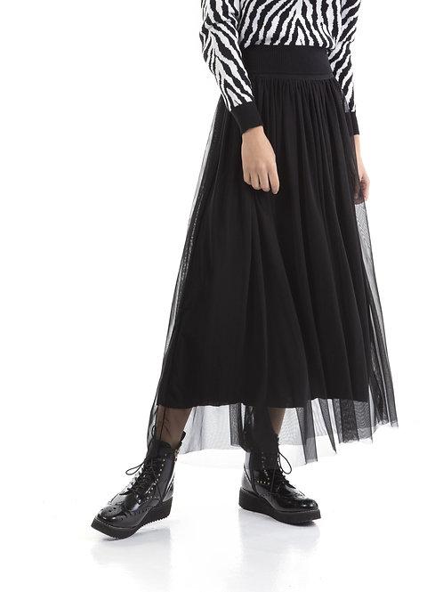 Μάξι τούλινη φούστα