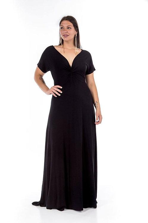 Μακρυ φόρεμα με κόμπο στο μπούστο