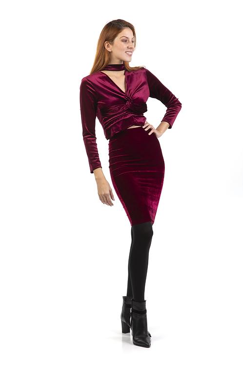 Velvet φούστα