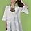 Thumbnail: Floral μπλούζα / φόρεμα