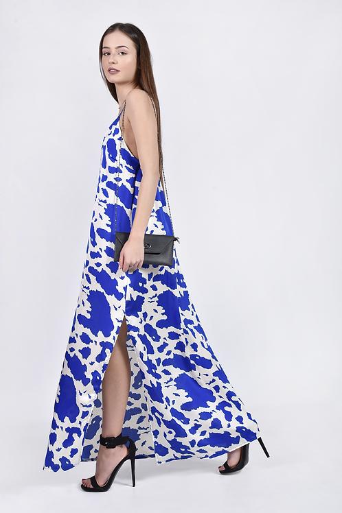 Maxi cow dress