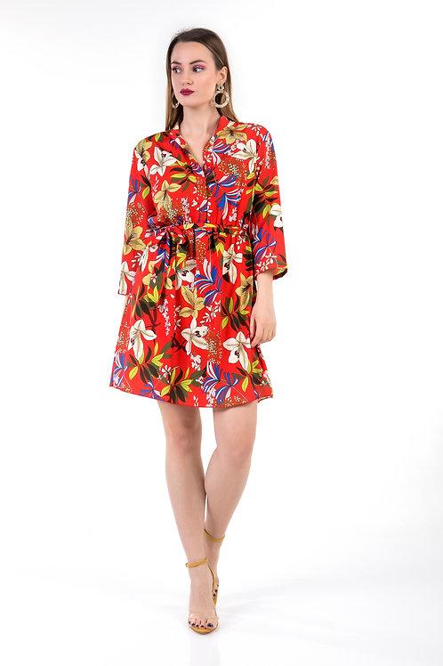 Φόρεμα floral print