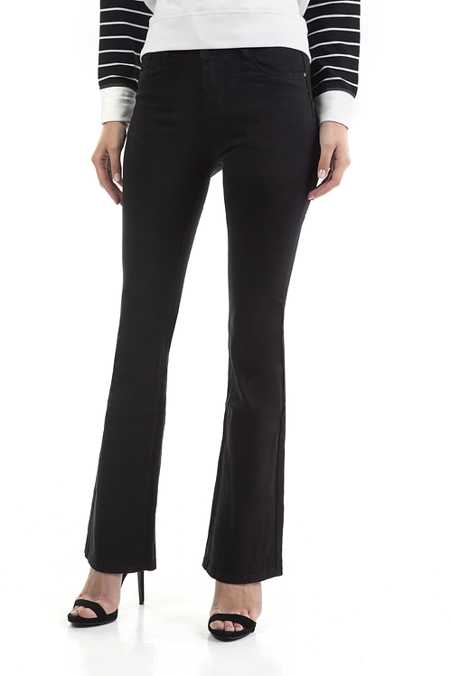 Regular waist τζιν παντελόνι καμπάνα