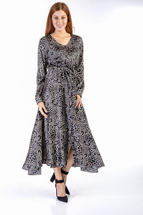 Ασπρόμαυρο φόρεμα