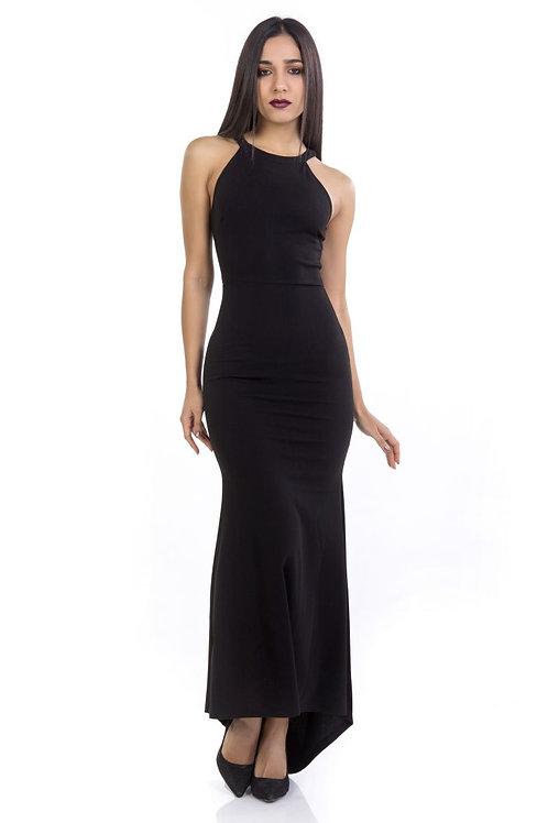 Φόρεμα Maxi μονόχρωμο