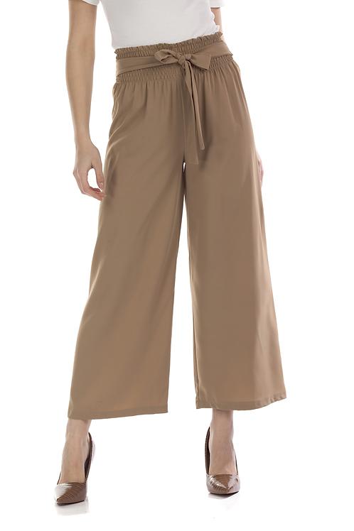 Παντελόνα με φαρδύ λάστιχο