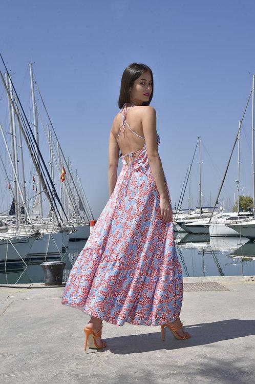 Spicy print dress