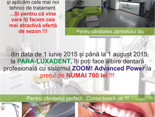 Promoția verii 2015 (1 iunie - 1 august)