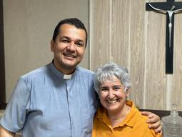 Irmã de Dom Henrique visita Rede Cultura de Comunicação