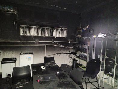 Aquecimento de ar-condicionado provocou incêndio no Nestor Piva
