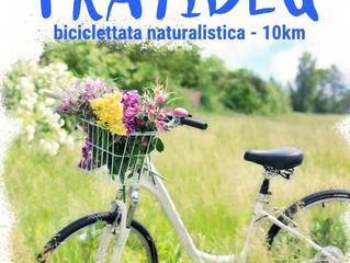 PratiBlu -biciclettata naturalistica di 10 km il 1 luglio a Gaggiano