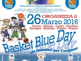 26 marzo al forum di Assago. Basket Blue day!