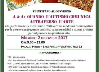 Il 2 dicembre 2017 - dalle ore 9:00 alle ore 13:00 - a Milano nella Sala Pirelli del Palazzo Pirelli