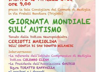 2 aprile, giornata mondiale dell'autismo, GAUDIO promuove un incontro formativo sull'autismo