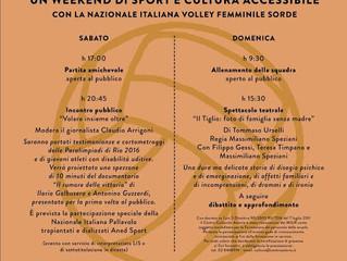 """""""VOLARE INSIEME OLTRE"""" Un weekend di sport e cultura accessibile 1 e 2 ottobre 2016"""