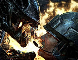 Alien's Colonial Marine Corps Vs Xenomorfo