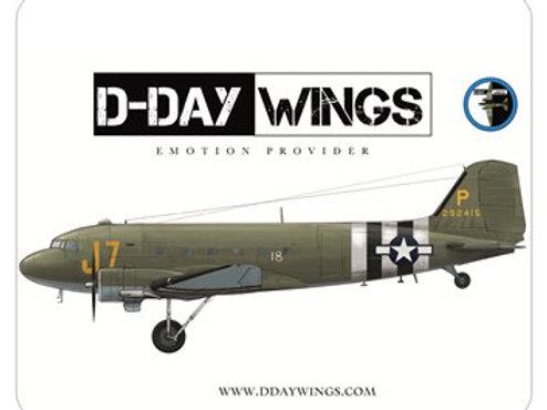 Sticker  D-DAY WINGS