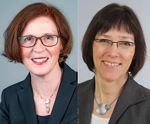 Image: Prof. Dr. Rita Gerardy-Schahn and Dr. Anja Münster-Kühnel