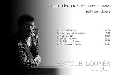 matoub lounès 1997 - sell kan i ddarzpng