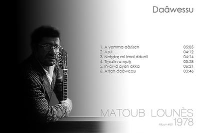 matoub lounès 1978 - daâwessu