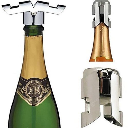 Stainless Steel Champagne Wine Bottle Stopper