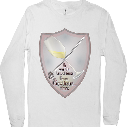 It was the best of times...  Long sleeve tee
