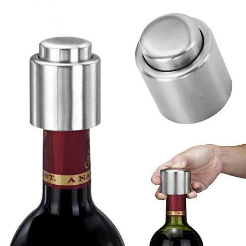 Vacuum Pump Stainless Steel Wine Bottle Stopper
