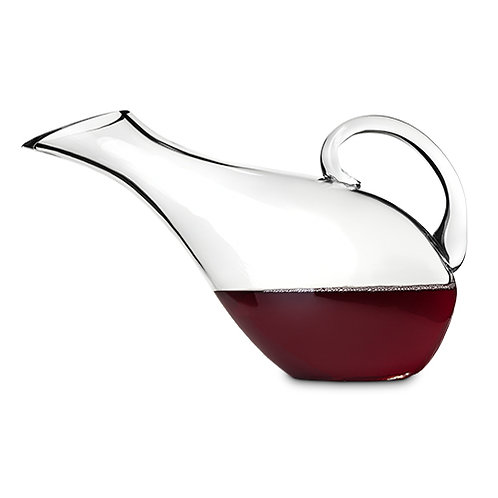 Perched Bird Crystal Decanter