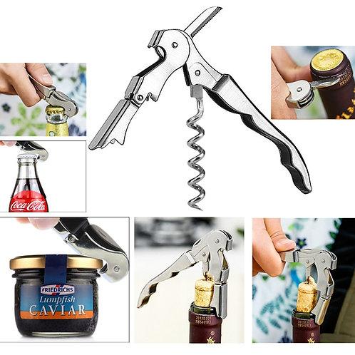 Stainless Steel Cork Screw / Waiter's knife