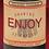 Thumbnail: Stop & Enjoy Wine, 2 bottle tote bag