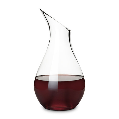 Hourglass Crystal Decanter