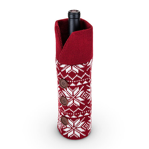 Wool Holiday Wine Sweater by Twine®