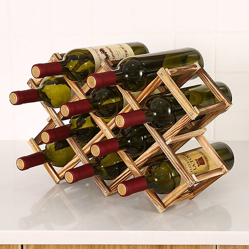 Collapsible Wooden Wine Racks - various sizes & shapes
