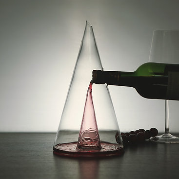 The Wine Cone Decanter & Aerator