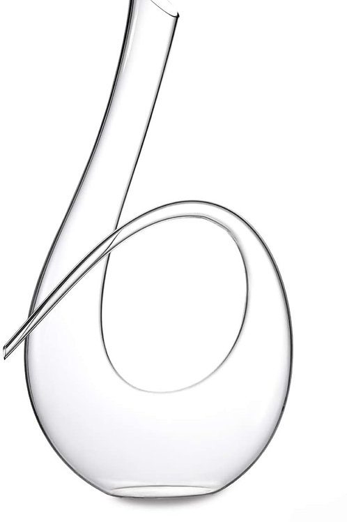 Curled Crystal - Wine Decanter