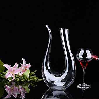 The Swan - crystal wine decanter