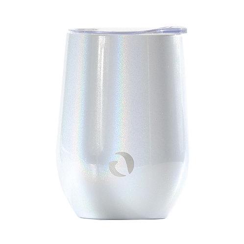 DRINCO® 12oz Insulated Wine Tumbler Glass (Unicorlust)