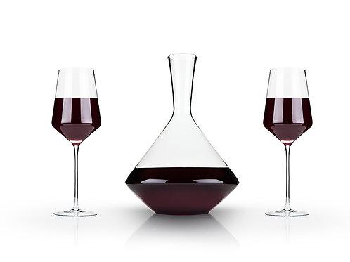 3-Piece Angled Crystal Bordeaux Set by Viski®