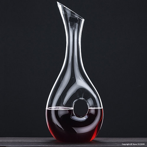The Wine Eye - Crystal Decanter