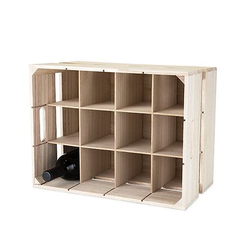 Wooden Crate Wine Rack by True