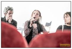 Elsa Charbit présente le dialogue entre cinéastes, avec Mati Diop et Thierry de Peretti