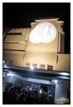 La façade du Rex, à Brive (Corrèze)