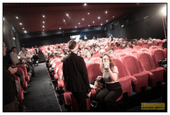 Elsa Charbit, déléguée générale, lors de la cérémonie d'ouverture du Festival du cinéma de Brive