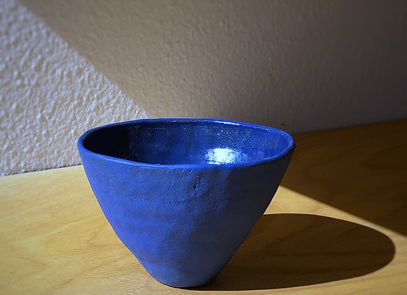 Blue Pinch Pot