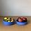 Thumbnail: Flat Sided Blue Bowl